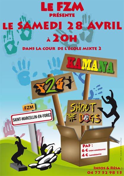 Caf Ef Bf Bd Concert St Etienne